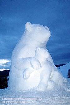 5. Schwarzwälder Schneeskulpturen-Festival