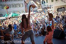 Stadtfest mit Fest der Kulturen
