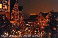 Der historische Silvesterzug und die Nachtwächter